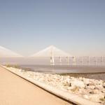 Lizbona Oriente Foto Zdjęcia Most Vasco da Gama w Lizbonie Architektura i zabytki turystyczne w Lizbonie