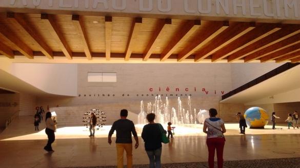 Lizbona Pawilon Wiedzy Foto Wideo Zdjęcia Oriente Przewodnik po Lizbonie