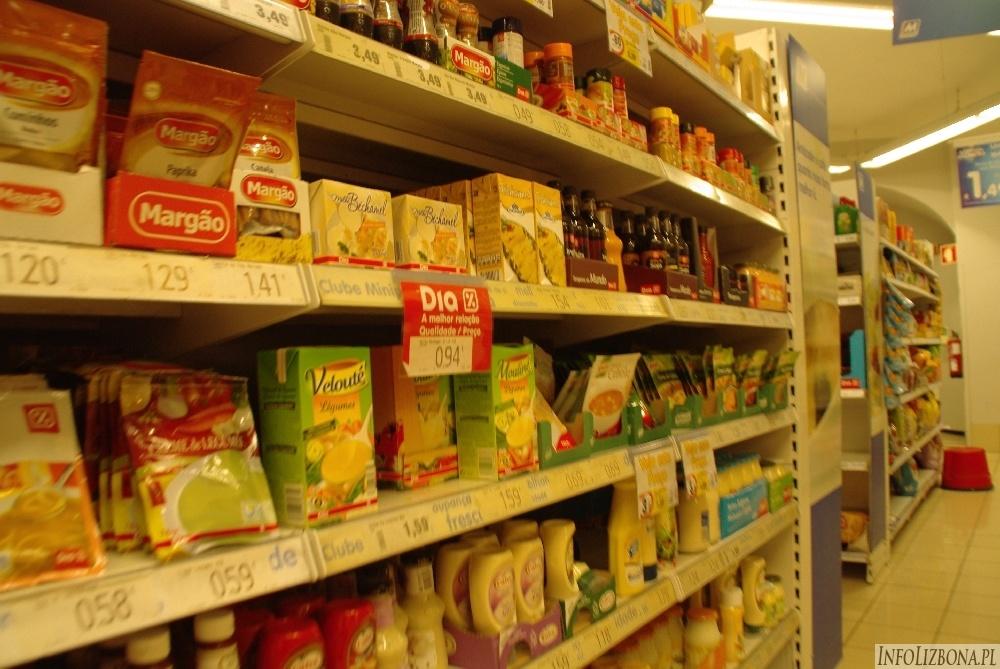 Lizbona 2014 Ceny jedzenie i artykułów spożywczych papierosów i alkoholi Lisbona koszty 2014 Portugalia