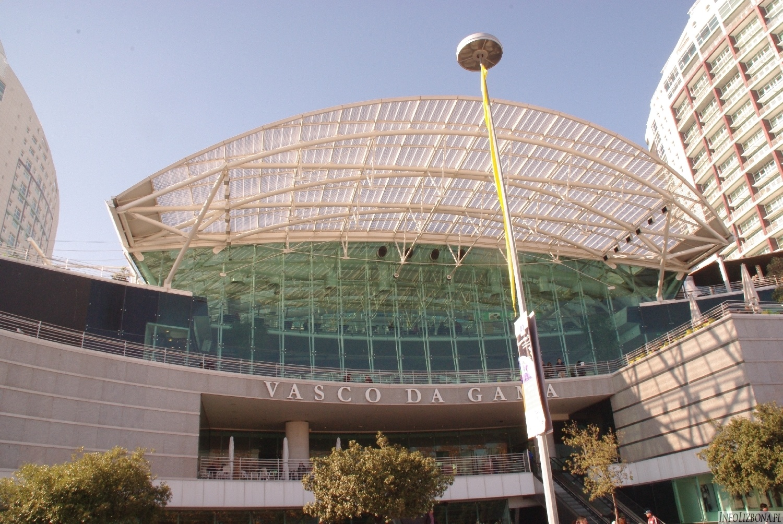 Centrum Handlowe Vasco da Gama w Lizbonie zdjęcia foto przewodnik