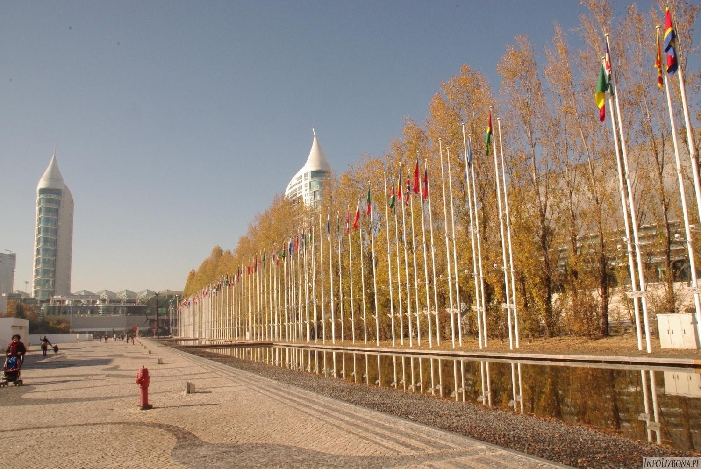 Lizbona Park Narodów tereny Expo Oriente foto zdjęcia przewodnik