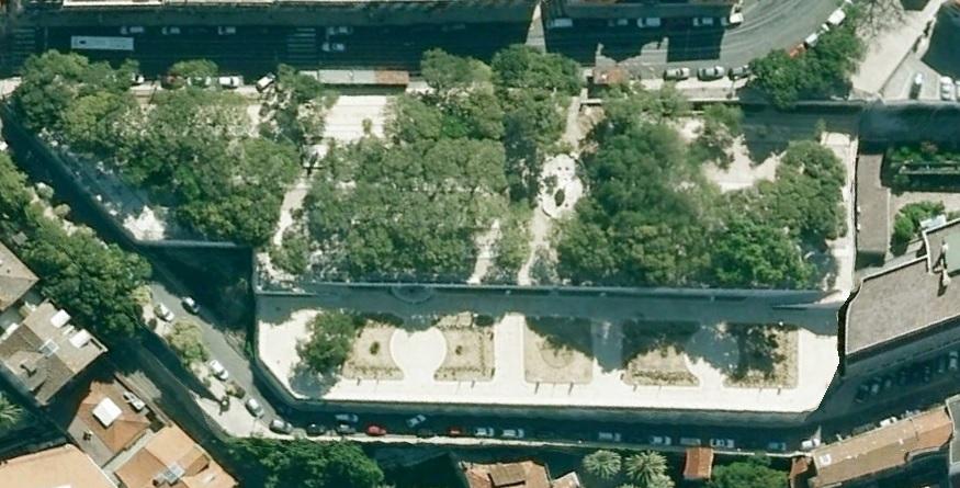 Punkt widokowy miradouro de Sao Pedro de Alcantara w Lizbonie Lisbona foto