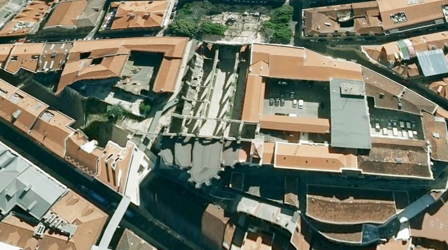 A12 Kościół Karmelitów w Lizbonie Lisbona foto