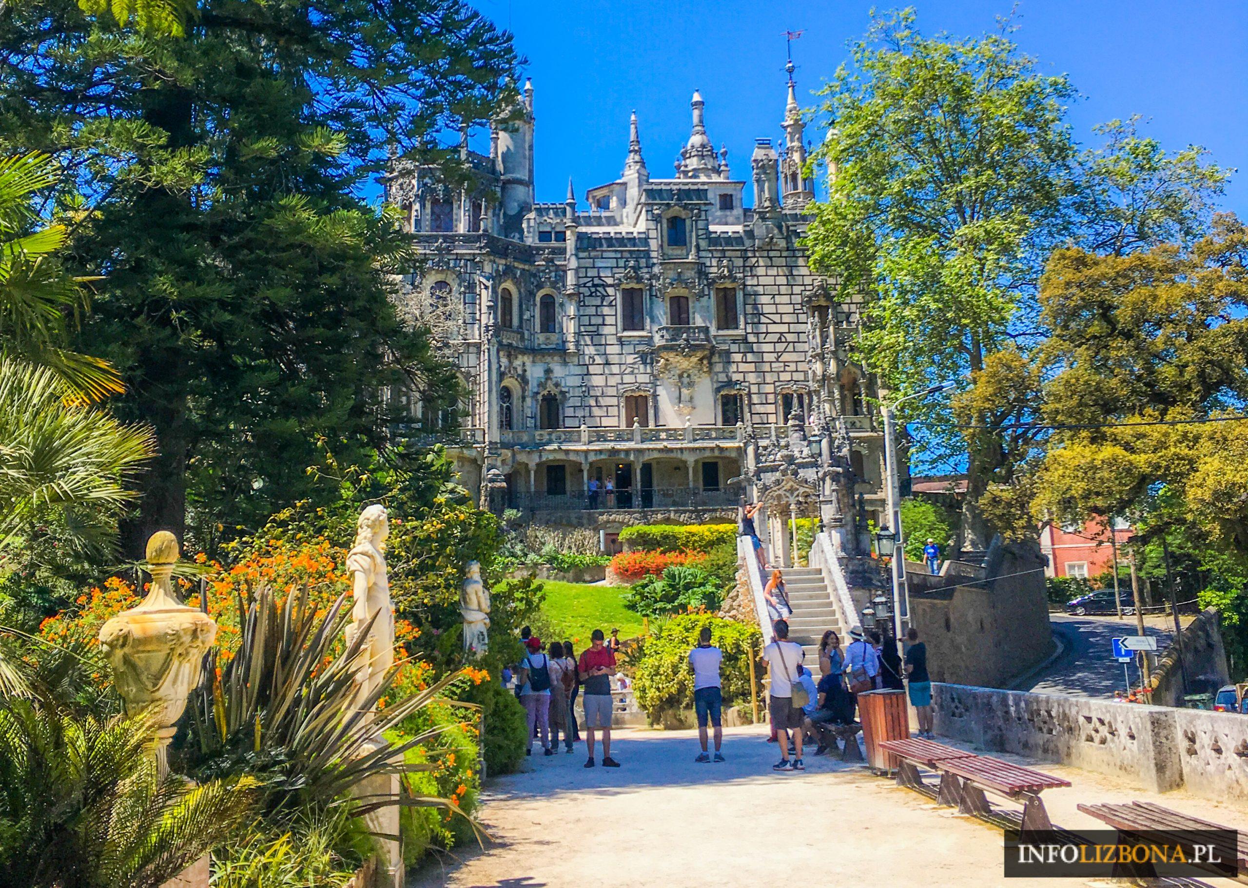 Sintra Quinta da Regaleira Podziemna Studnia Masoni Pałac Park Polski Przewodnik po Sintrze i Lizbonie Wycieczki Zwiedzanie Masoni Templariusze Tajemnice Opis Bilety Mapa