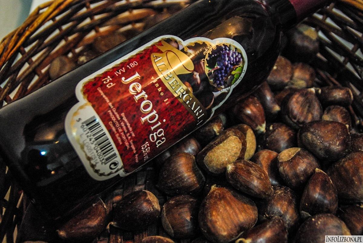 Jeropiga Geropiga Portugalia Wino Kasztany Likiery Kuchnia Portugalska