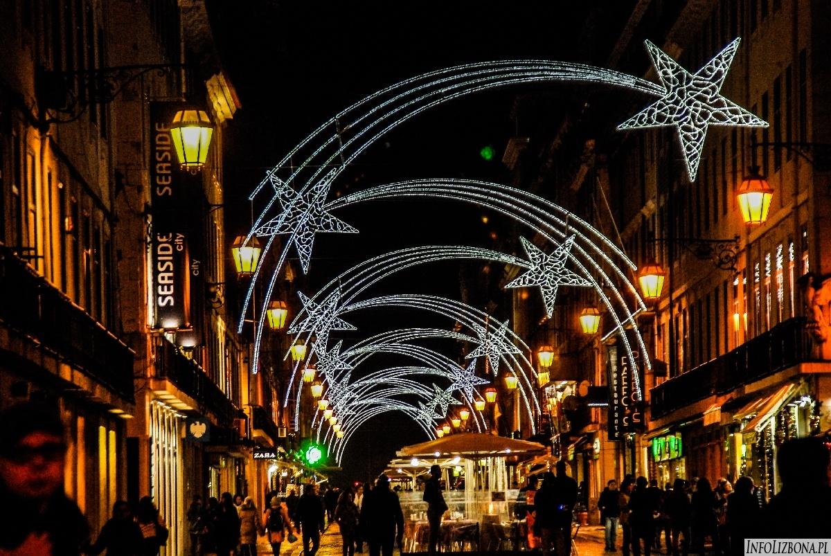 Boże Narodzenie w Lizbonie 2014 Lisbona Natal Święta Wigilia Portugalia Foto Zdjęcia Fotografie