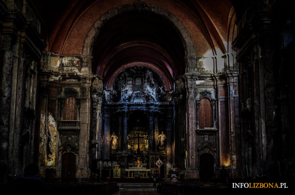 Kościół Dominika Lizbona Dominikanów Lisbona Spalony Kościół w Lizbonie Zdjęcia Fotografie