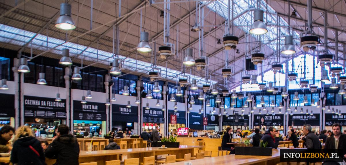 Targ Mercado da Ribeira w Lizbonie Lizbona Lisbona Jedzenie Restauracje Foto