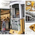 Kawiarnia Chiado Caffe w Lizbonie