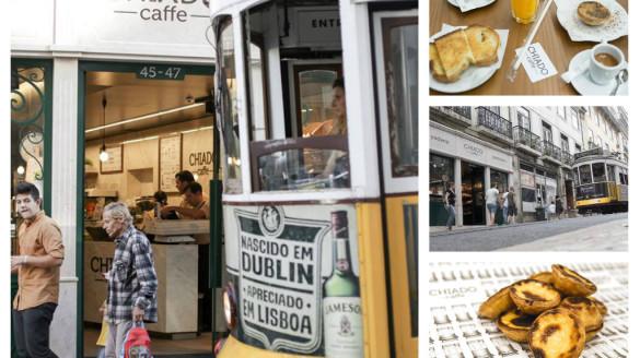 Chiado Cafe kawiarnia Lizbona Lisbon restauracje