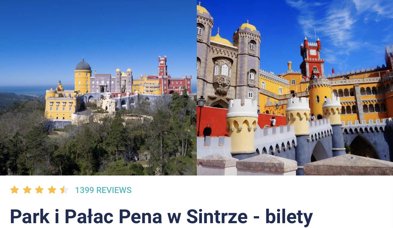 Sintra Pałac Pena i Park Bilety Online Przez Internet Gdzie Kupić Zniżki Cena Rabaty Promocje Jak Nabyć Opis Informacje Przewodnik po Sintrze Pośrednik Bilet Cena Opis
