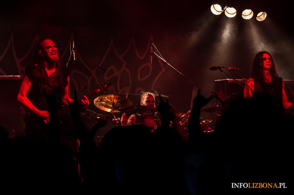 Vader Hate Lizbona Lisboa Lisbona Foto Fotografie Koncert