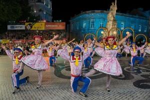 Festiwal św Antoniego 2015 Festas de Lisboa Festiwal Sardynek Marsz Defilada Parada Foto Zdjęcia Fotografie Przewodnik Lizbona Lisbon