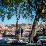 Lizbona, jak na dłoni z punktu widokowego św. Piotra z Alcantary