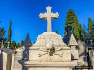 Cmentarz Przyjemności Prazeres Lizbona Lisbona Lisbon Cementario Nekropolia Miasto Umarłych Polski Przewodnik Portugalia Co Warto zobaczyć