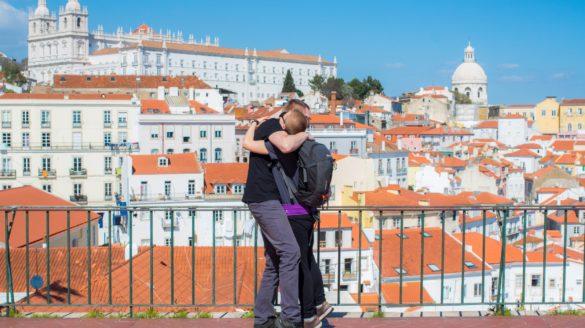 Podróż poślubna do Lizbony przewodnik fotograf wideo timelaps pomysły planowanie Lisbona Portugalia