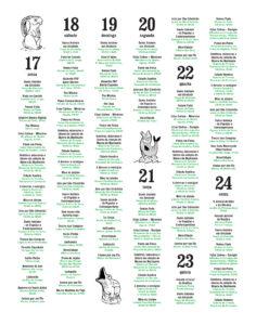 Festiwal świętego Antoniego w Lizbonie Święto w Lisbonie 2016 program imprezy wydarzenia Festas de Lisboa Pełen Program 2016 do druku to print June Lisboa Portugalia