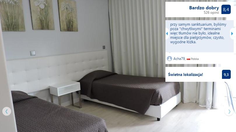 Polecane noclegi w Fatimie w Portugalii Hotele Domy Pielgrzyma Tanie Pensjonaty Ekonomiczne Dobre Sprawdzone Sanktuarium w Fatimie Przewodnik Opis Gdzie Spać 13
