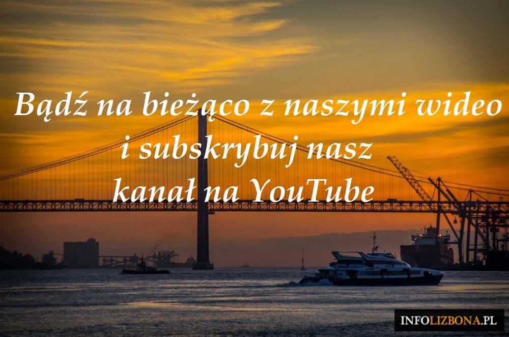 Wideo z Lizbony na YouTube kanał polecane wideo z Lisbony Lizbony Portugalia