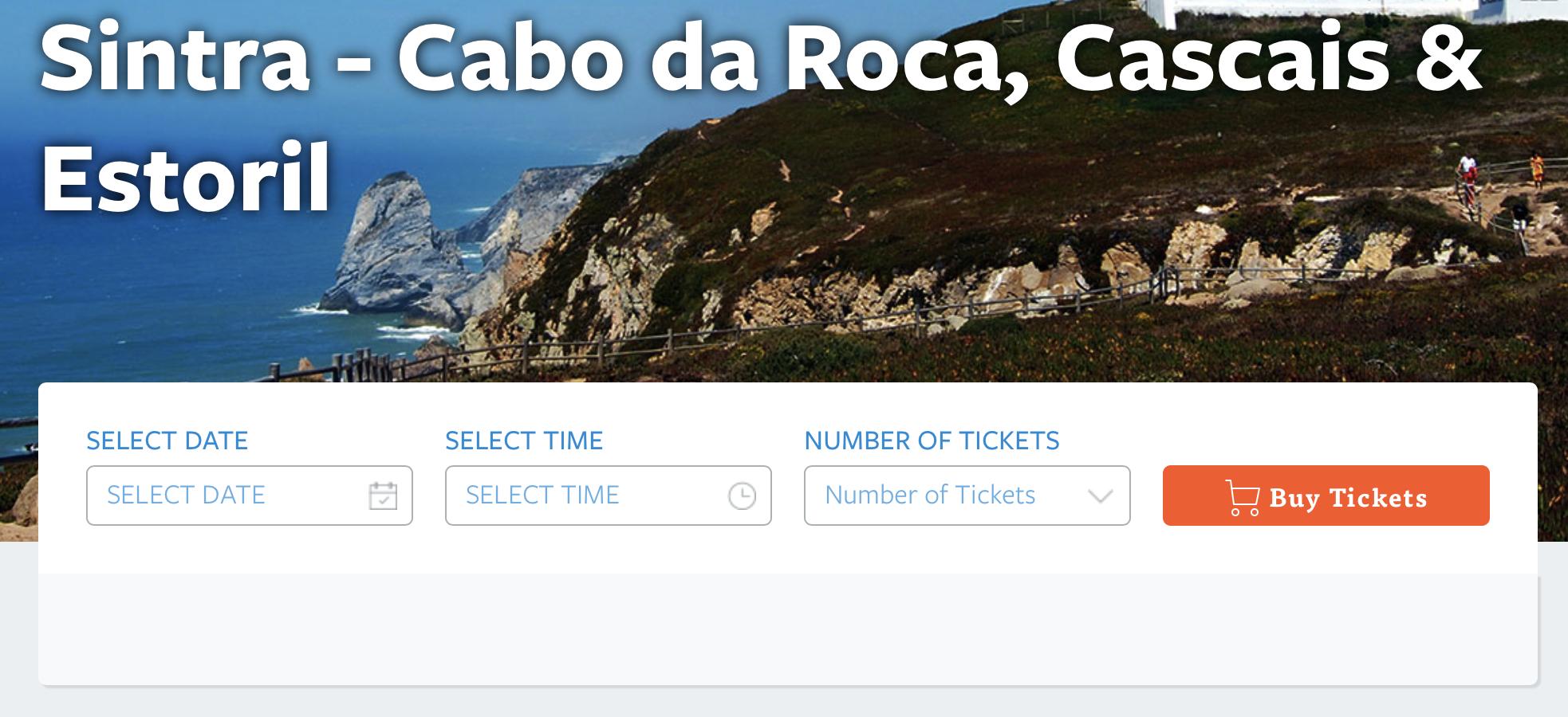 Wycieczka z Lizbony do Sintry, Cabo da Roca, Cascais oraz Estoril