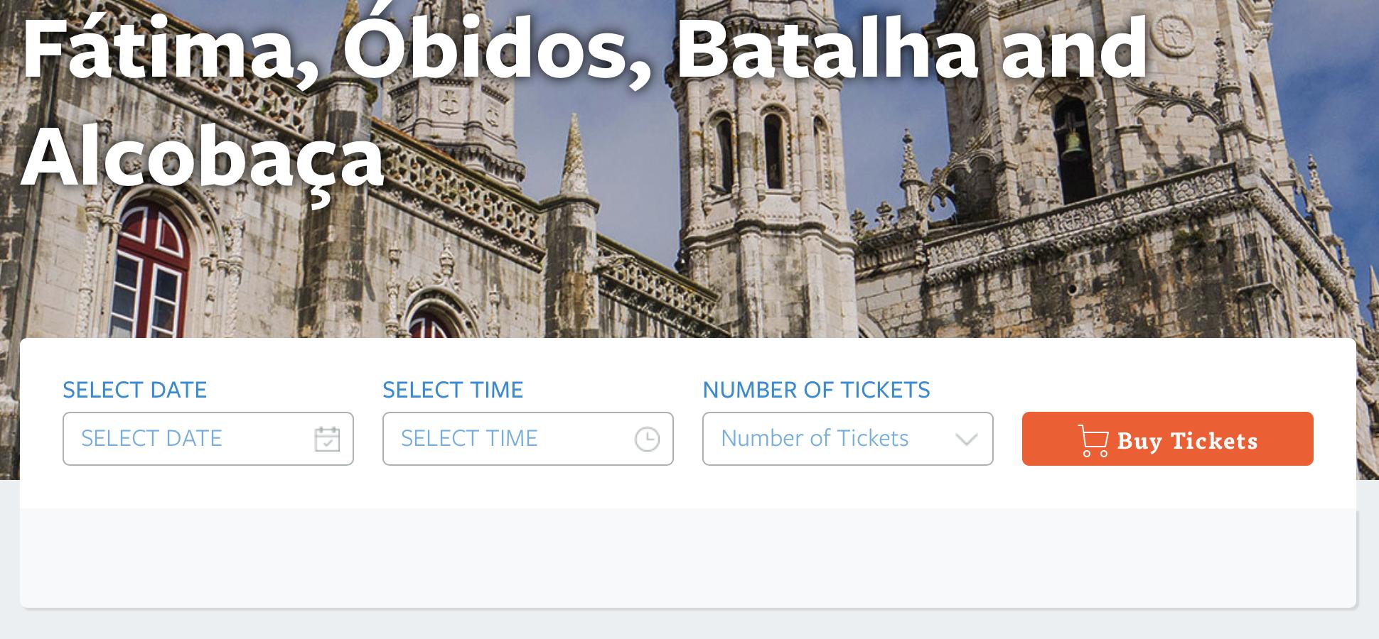 Wycieczka z Lizbony do Fatimy, Obidos, Batalha i Alcobaca