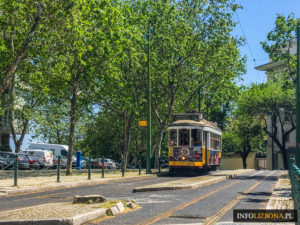 Tramwaj 24 Lizbona Trasa Zwiedzania Przewodnik Opis Bilety Co zobaczyć Informacje Nowy tramwaj Żółty Słynny Lisbona