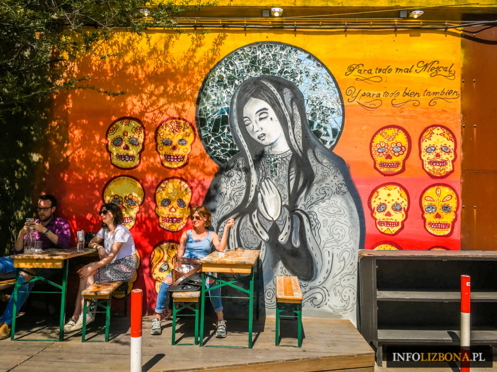 LX Factory Lizbona Lisbon Lisboa Photo Zdjęcia Fotografie LXFactory Centrum Alternatywne Murale Graffiti Przewodnik Opis Dojazd Informacje