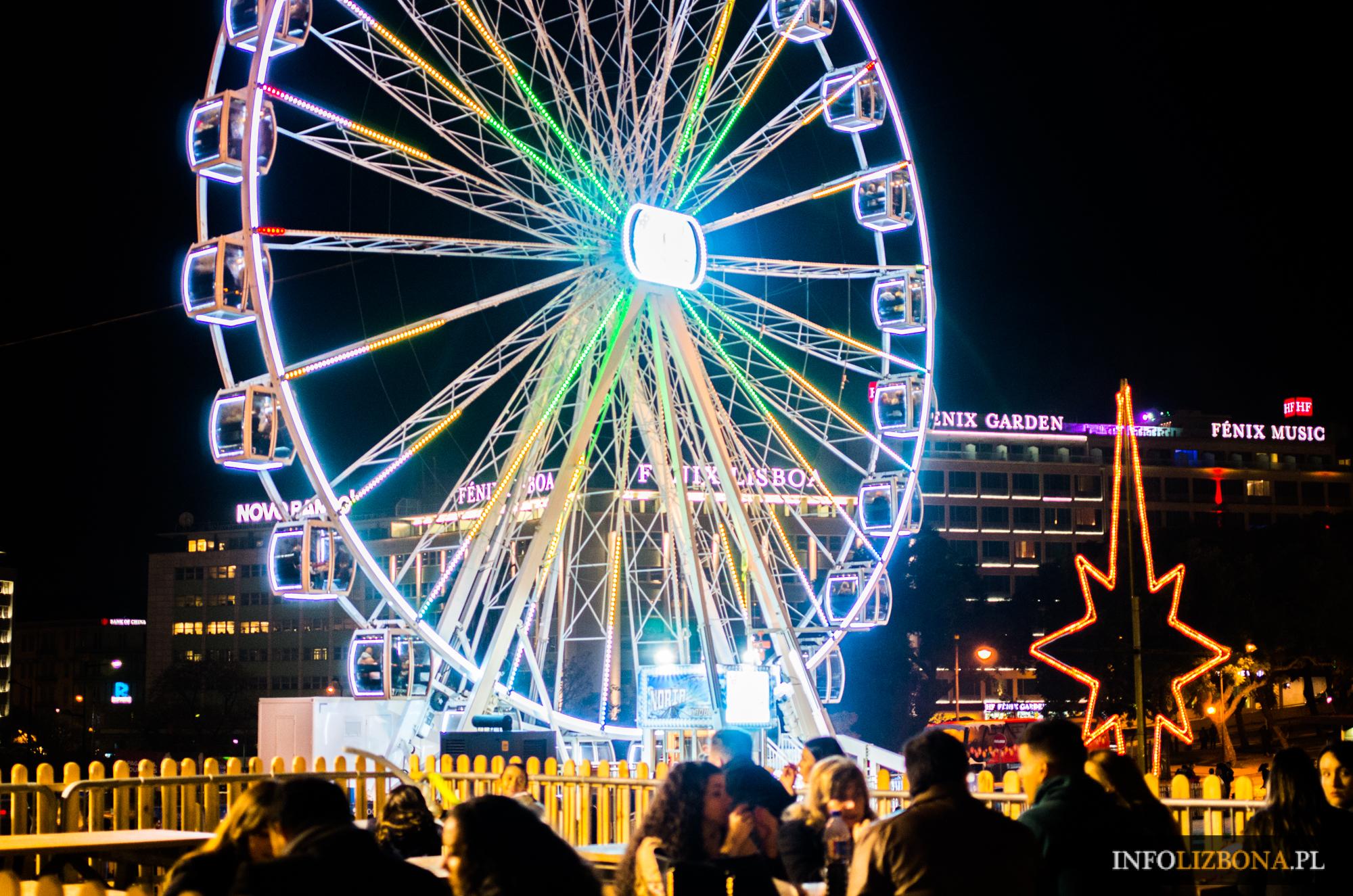 Lizbona Boże Narodzenie Święta 2018 w Lizbonie Nowy Rok 2019 Spacer po mieście przewodnik zwiedzanie Lisbona Portugalia Foto Zdjęcia Polecane Miejsce