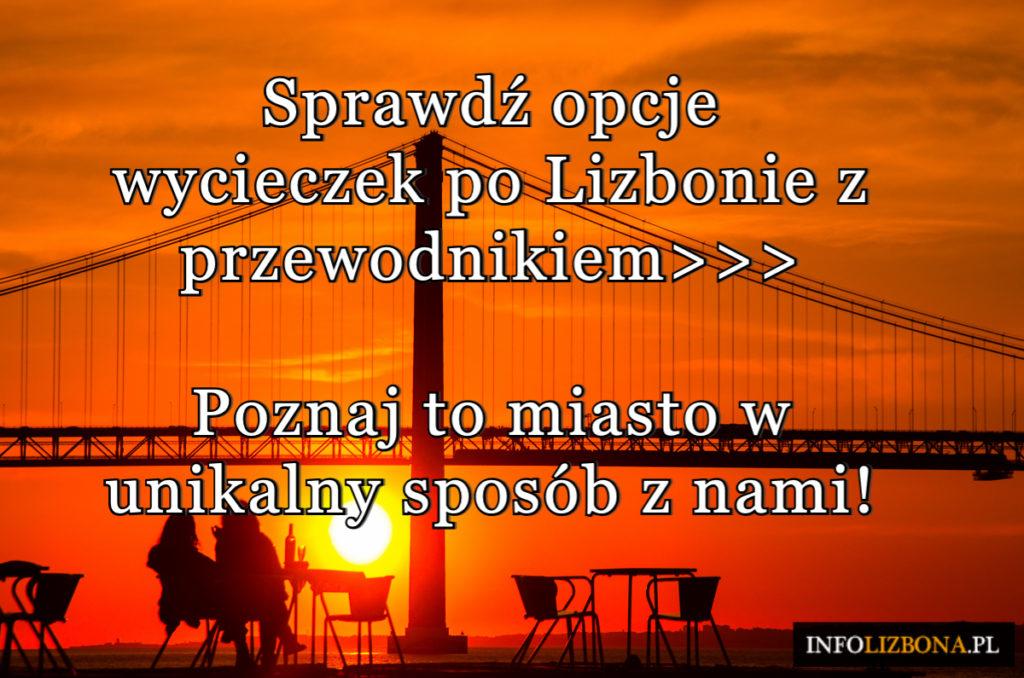 Polski przewodnik po Lizbonie - zwiedzanie opinia cena opis InfoLizbona 2020