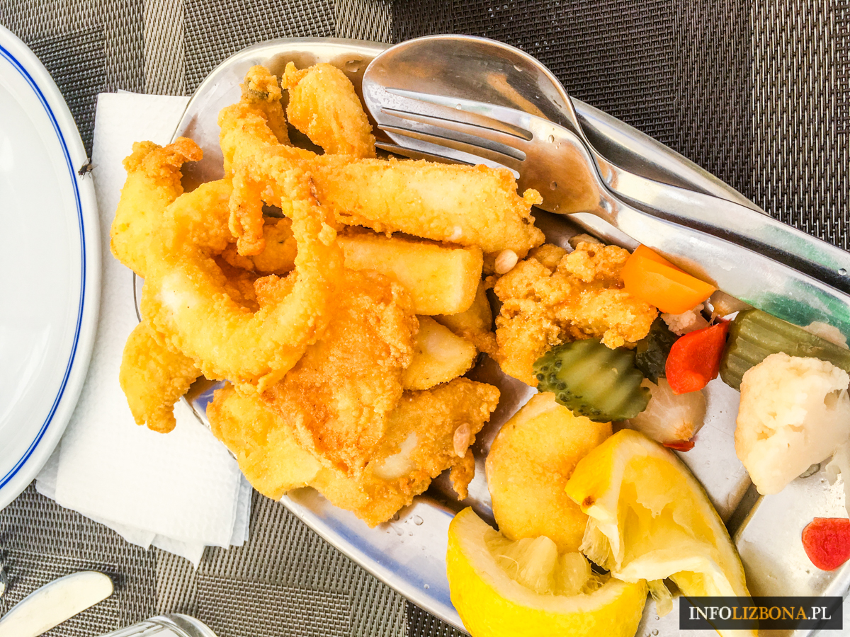 Cascais Restauracje Jedzenie Owoce Morza Kaszkais Polecane Lokalne Gdzie Zjeść w Portugalia Lizbona Restauracja Ryby Co Jeść Przewodnik