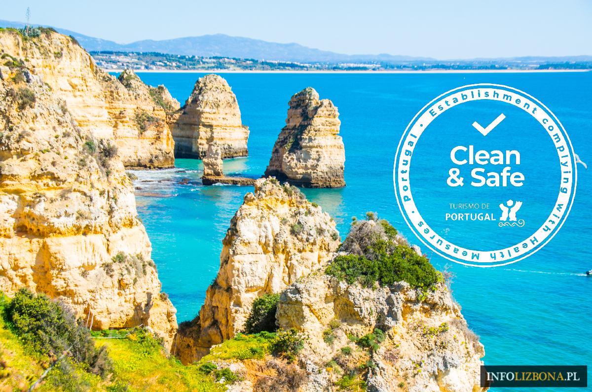Portugalia Safe & Clean Certyfikat Bezpieczeństwa Specjalne Oznaczenie Znak Bezpiecznie i Czysto w Portugalii Safe&Clean Kto ma Firmy Hotele Restauracje Wycieczki Polski Przewodnik