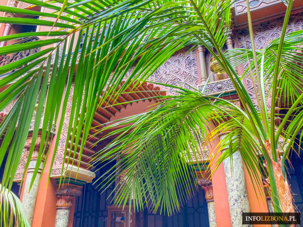 Casa do Alentejo Lizbona Arabski Budynek Wnętrza w Lizbonie Islamskie Neoarabskie Dom Kultury Pałac w centrum Polski Przewodnik po Portugalii Zwiedzanie Ukryte Miejsca