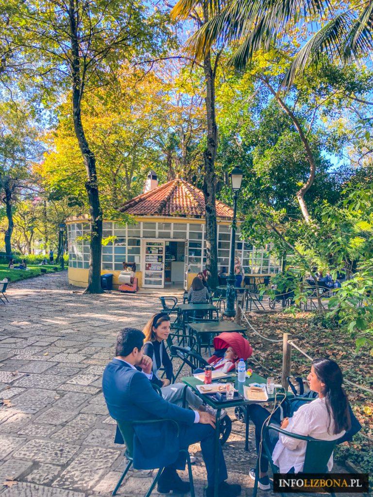 Park Estrela Lizbona w Lizbonie Jardim da Estrela Lisboa Park Gwiazdy Gwiazda Polecane tereny zielone w Portugalii Ulubione miejsca mieszkańców Polski Przewodnik w Portugalii